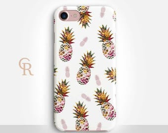 Pineapple Phone Case Case For iPhone 8 iPhone 8 Plus - iPhone X - iPhone 7 Plus - iPhone 6 - iPhone 6S - iPhone SE - Samsung S8 iPhone 5