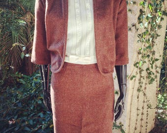 Vintage 1960's Pencil Skirt and Jacket