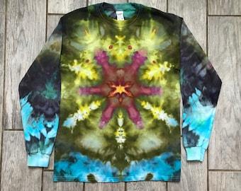 Ice Dyed Shirt (Adult M) 17-092