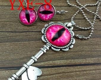 Beautiful eye jewelry set