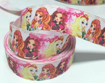 Ribbon fantasy ever after high (by the yard)
