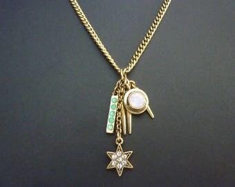 Star Necklace Star Pendant Starburst Necklace Starburst Pendant Art Deco Necklace Great Gatsby Necklace Art Nouveau Vintage Necklace