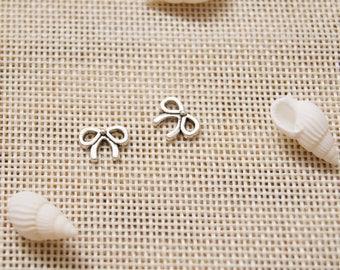 10pcs/Set Bowknot Charms Pendant , 6*8 mm pendant ,DIY