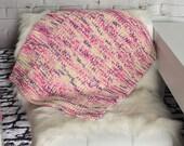 Pet blanket - cat blanket - dog blanket - knit blanket - boho pets - gift for cats - handmade gift - knit cat blanket - photo prop