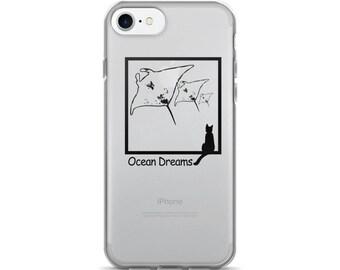Flying Mantas iPhone 7/7 Plus Case