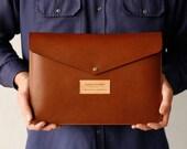 Macbook Case Leather Sleeve, Laptop, Macbook Air, Macbook Pro, Retina, Leather Laptop Sleeve, Hand Stitched, Personalised,
