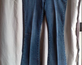 Groovy Neeso Yellow corded Vintage Jeans 11