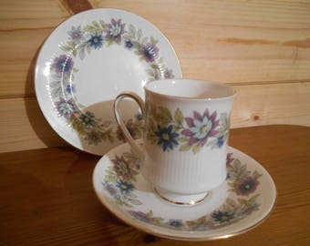Vintage Tea Cup Trio, Paragon Cherwell, Tea Cup Saucer and Cake Plate