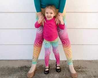 Rainbow Medallion - Mommy and Me Outfits
