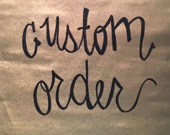 Custom Candy Cane Wreath