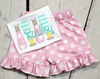 Girls Softball Bat Shirt- Toddler Girls- Softball Shirt- Baby Girls- Baseball Bat Shirt- Baseball Bats -6m, 12m, 18m, 2t, 3t, 4t, 5t, 6