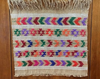 Place mats woven and brocaded