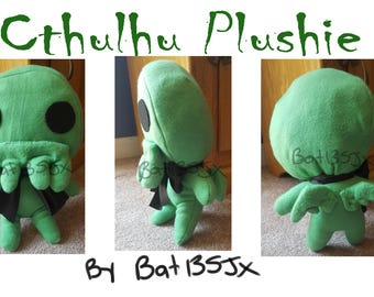 Cthulhu Plushie