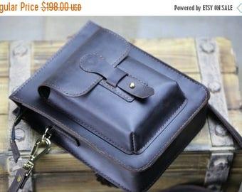 SummerSale Leather messenger bag, Leather crossbody bag, Leather travel bag