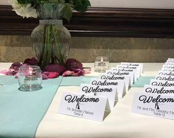 Wedding Place Cards: Set of 100