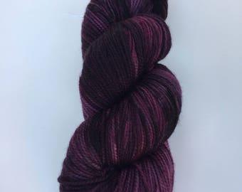 Smolder Peppermint Sock Hand Dyed Yarn
