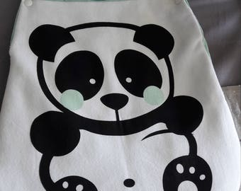 Panda baby sleeping bag