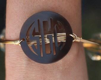 Bangle Monogram Bracelet