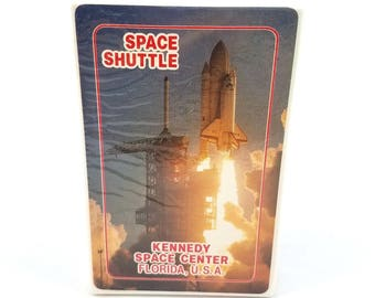 Vtg Kennedy Space Center Shuttle Deck of Playing Cards Florida Souvenir SEALED