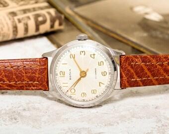 1959 Wostok Vostok Volna Wave Precision USSR Soviet Russian  Men's Watch new strap