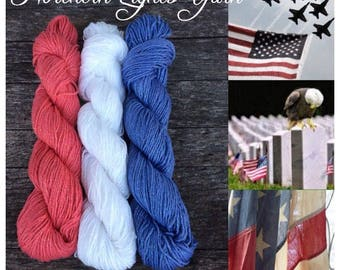 Liberty Collection by Northern Lights Yarn hand-dyed cotton yarn
