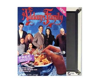 Adams Family Cereal Magnet