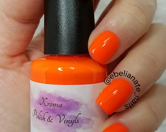 Persimmon Neon Nail Polish 15ml