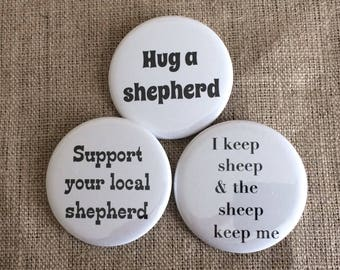 buttons for shepherds