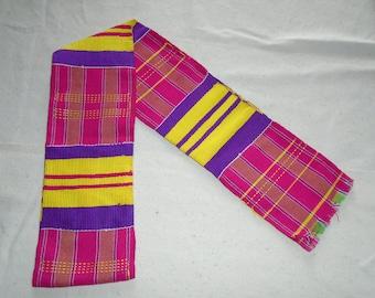 Hand Woven Kente, Ghana Africa