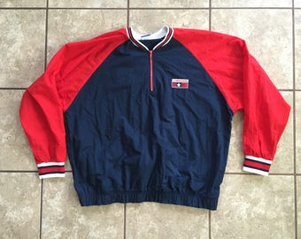 Converse Official Product Jacket Red White and Blue Xl