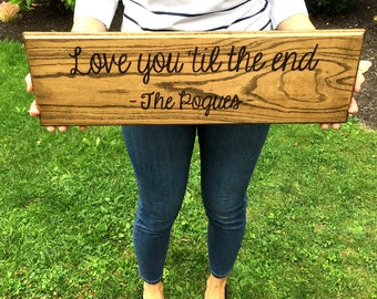 Wedding Song Lyrics Wall Art | Custom Song Lyrics Wall Art | Song Lyrics on Sign | Wedding Song Lyrics Gift | Lyrics on Wood|Song Lyric Sign