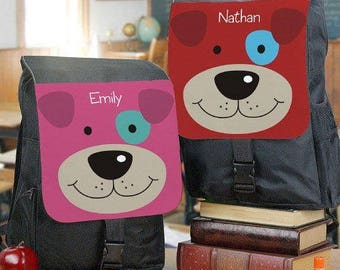 Personalized Puppy Dog Backpack