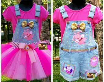 Denim Jumper, Overalls, Denim Overalls, Birthday Outfit, Birthday Shirt