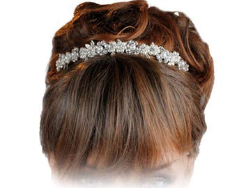 Wedding Tiara, Bridal Tiara, Brides Tiara, Wedding Headdress, Brides Headdress