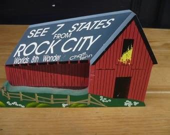 Wood House, made by Shelia, Rock City Barn