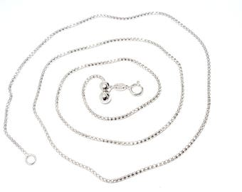 Silver chain, Elevator Lift Sistem, Universal, Long and short in one Chein, Gift