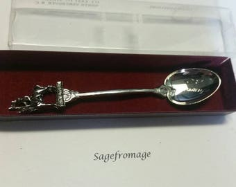 Vancouver BC RCMP Collectible Souvenir Spoon