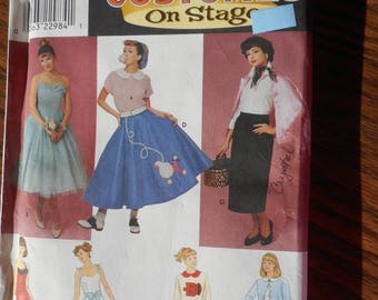"""1950's Ladies and Girls Costumes - Inspired by """"Grease"""". Sizes 4-8"""