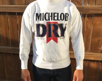 Vintage beer ad Michelob Dry sweatshirt