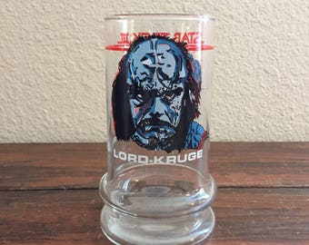 1984 Star Trek III The Search For Spock Glass/ Lord Kruge Glass/ 16oz./ Paramount Pictures