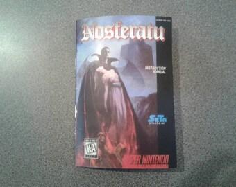 Nosferatu manual