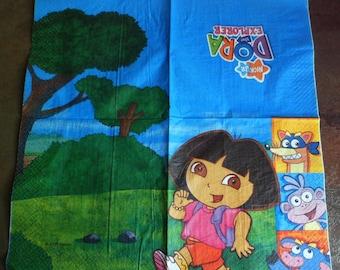 Paper towels 2 Dora and friends