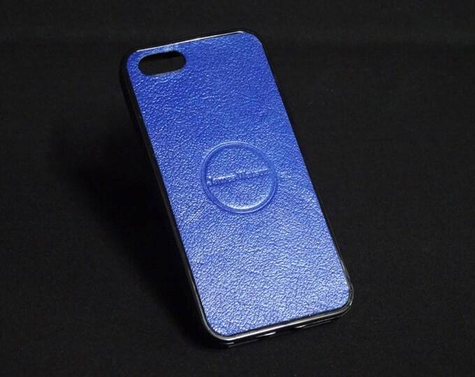 Jimmy Case - Fits Apple iPhone 5 5S - Blue Glaze - Kangaroo leather - Handmade - James Watson