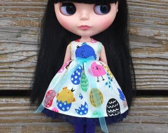 Blue Chick Blythe Dress