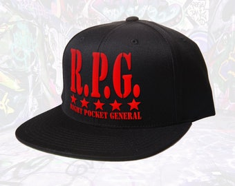 """General Active Wear """"RPG stacked"""" Hat"""