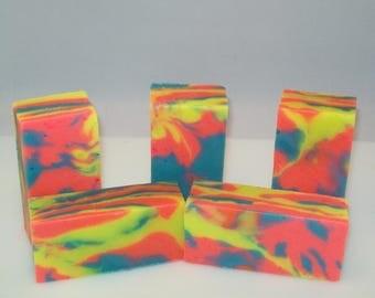Summer Splash Hand Crafted Bar Soap