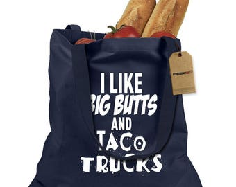 Big Butts And Taco Trucks Shopping Tote Bag