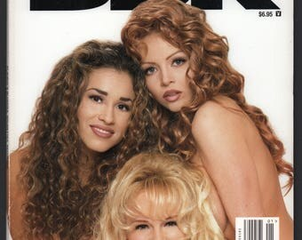 Mature Vintage Playboy Special Edition Mens Girlie Pinup Magazine : Playboy's BBR Blondes Brunettes Redheads January 1997