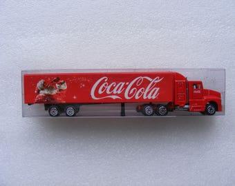 Vintage Coca Cola Toy Truck - Original Box