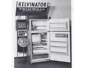 8X10 Very Cool Mid-Century Original Vintage Advertising Press Photos